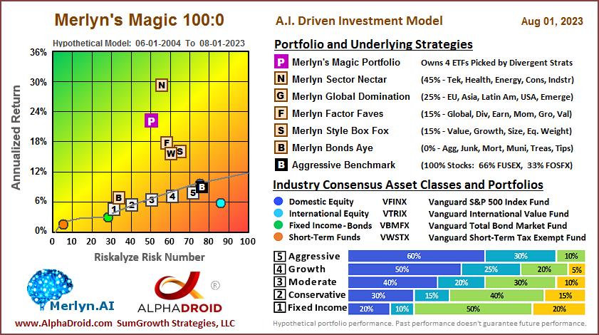 Merlyn's Magic 100:0 Portfolio